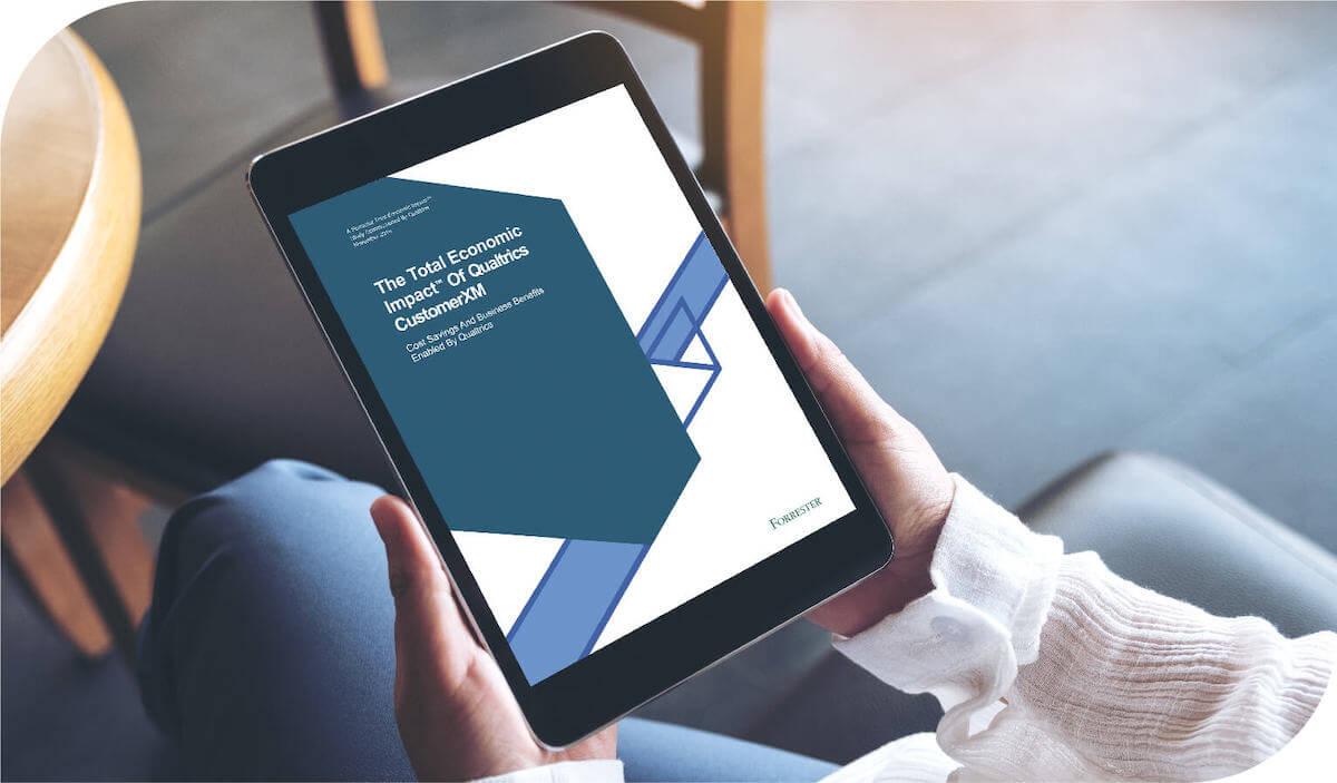 Forrester Study: Economic Impact of Qualtrics CustomerXM