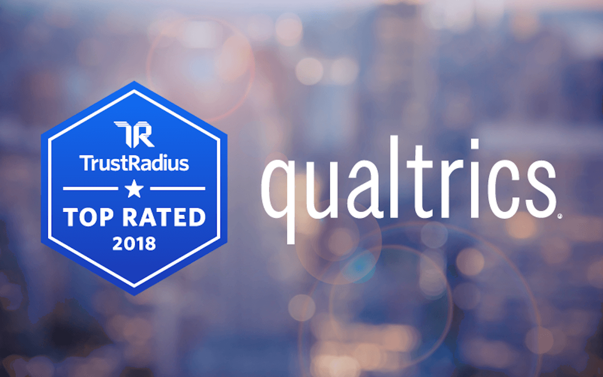 Qualtrics Recognized as a 2018 Top Rated Customer Experience Management Platform