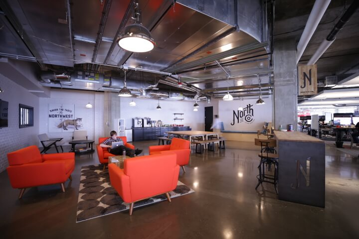 Qualtrics Seattle HQ in Finals for GeekWire's Best Office Award