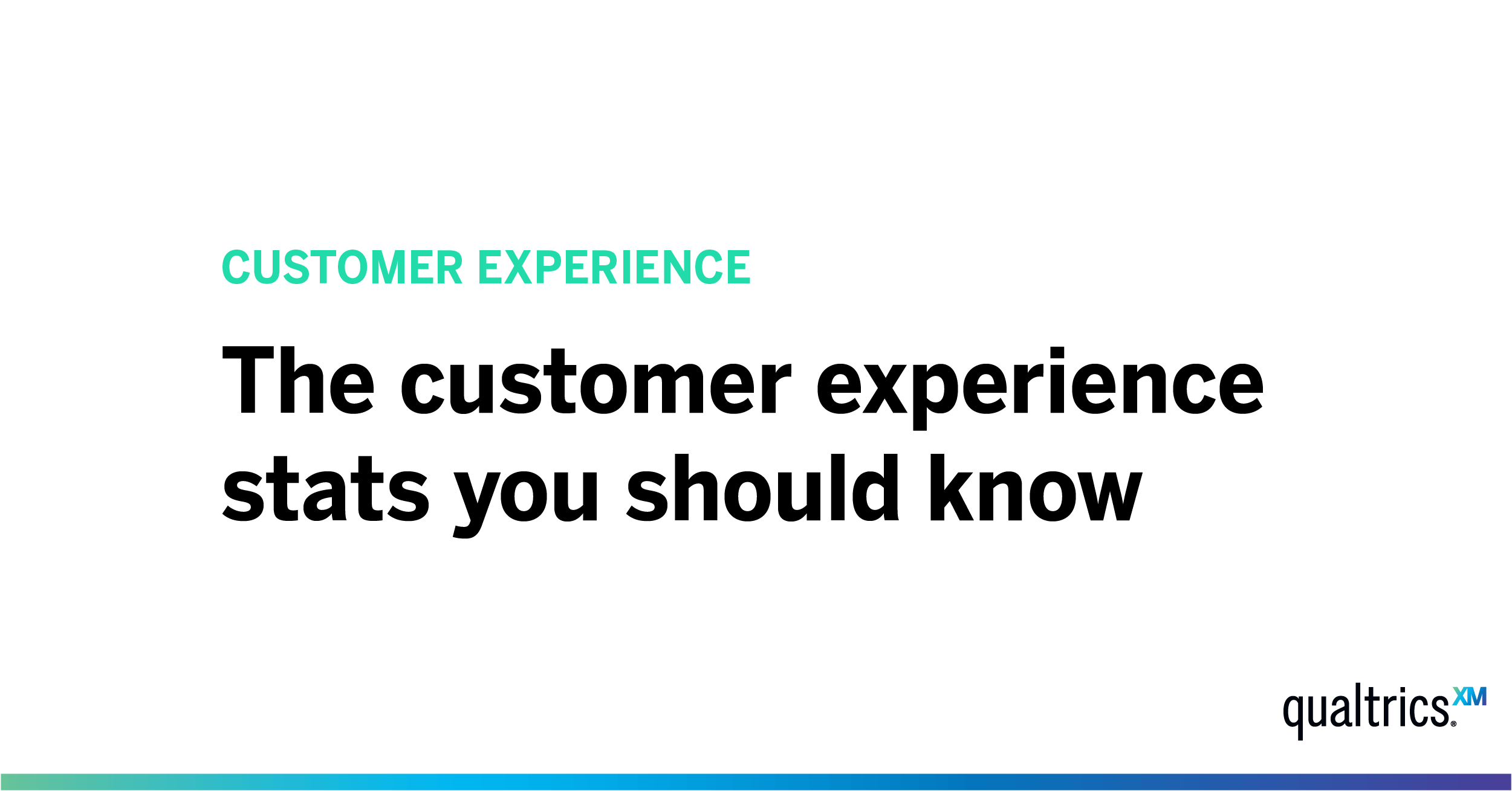 18 Customer Experience Stats to Know in 2019