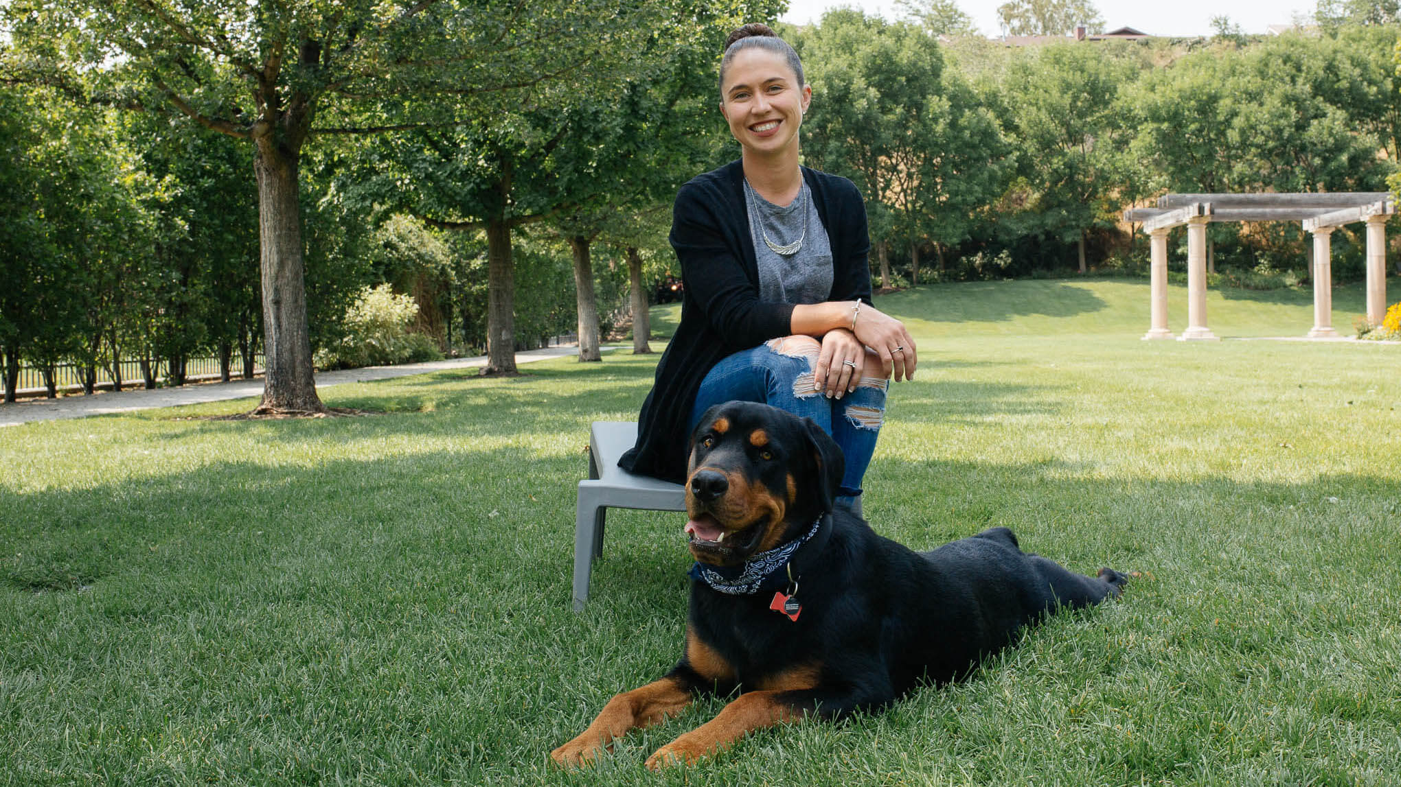 Why Qualtrics: Jenny L. – Principal Customer Success Leader (and Ronan – Principal Rottweiler) – Provo