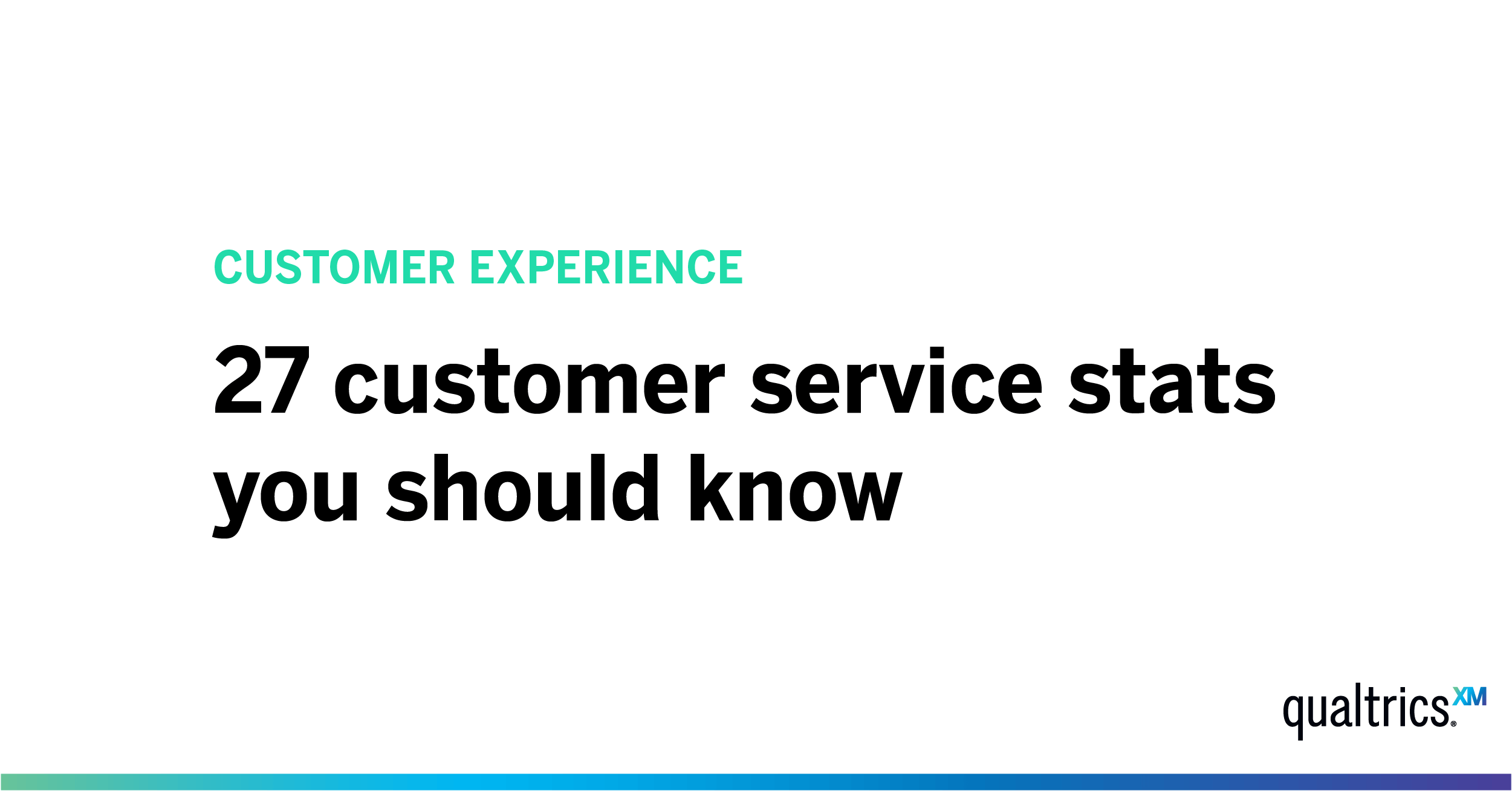 27 Customer Service Stats to Know in 2019