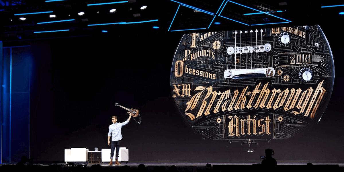 Breakthrough Artist Award: Seeking the world's best experience breakthroughs