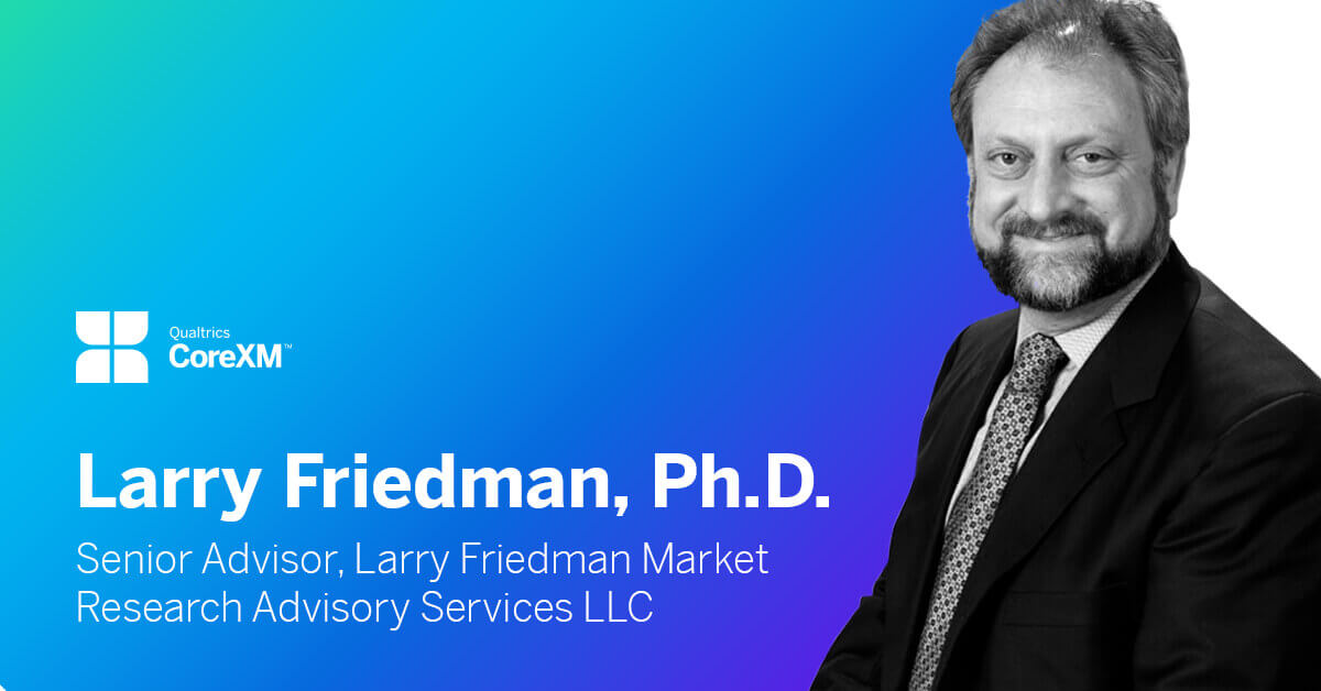 Larry Friedman: 'The future challenges and opportunities of market research'