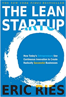 The Lean Startup - book cover