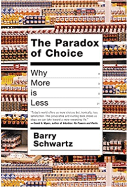 The Paradox of Choice - book cover