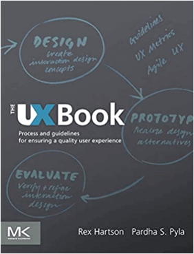 The UX Book - book cover