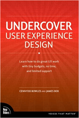 Undercover UX Design book cover