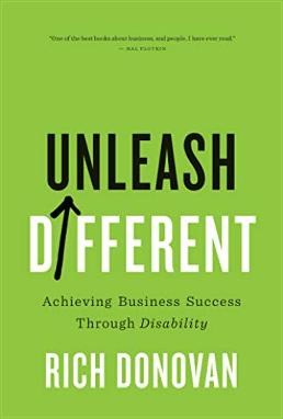 Unleash Different - book cover