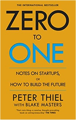 Zero to One book cover