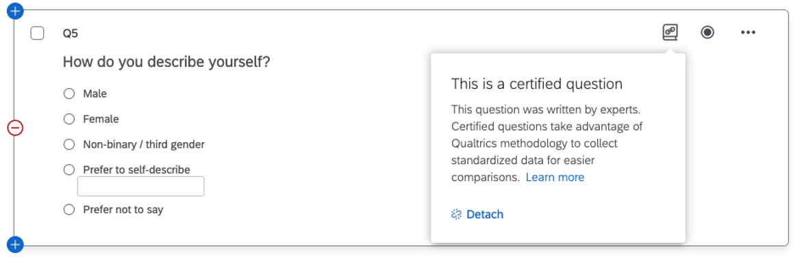 Certified questions - demographic question