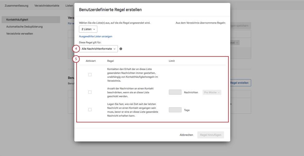 Regeln zur Kontakthäufigkeit image 5
