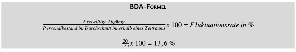BDA-Formel