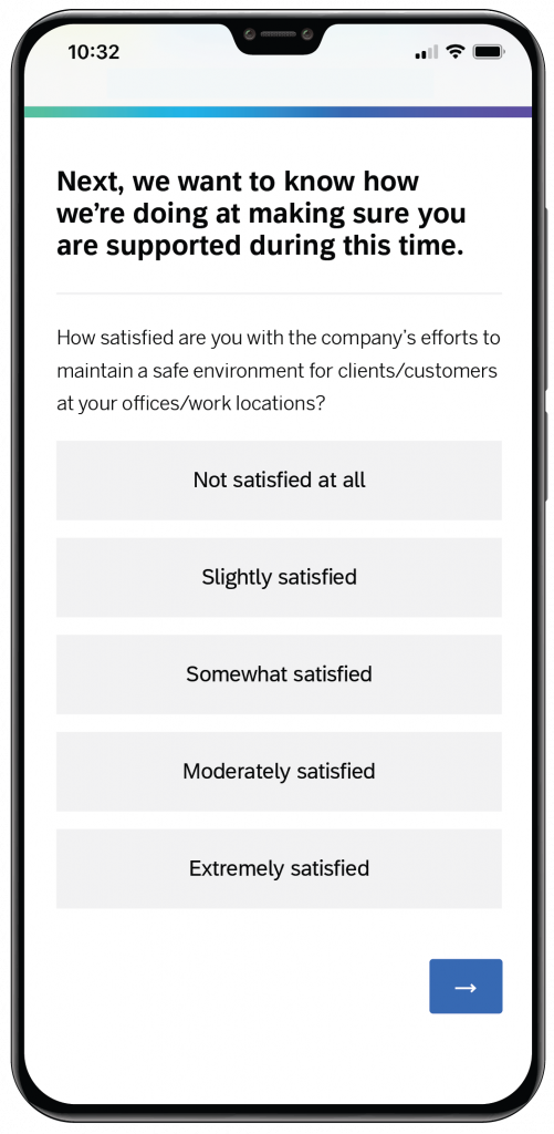 Mobile On-Site Remote Work Pulse