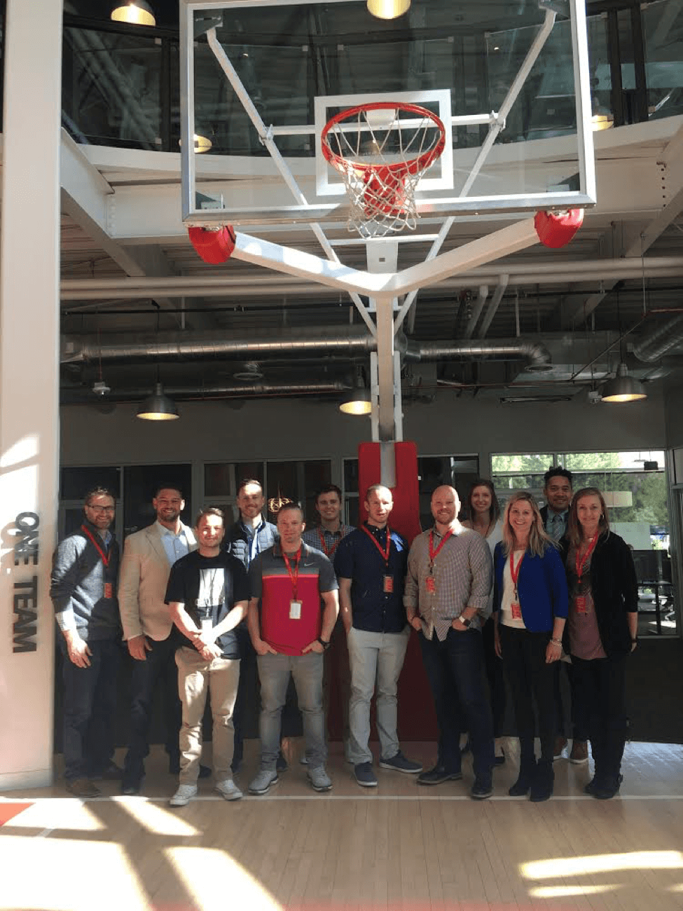 April New Hire Class at Qualtrics