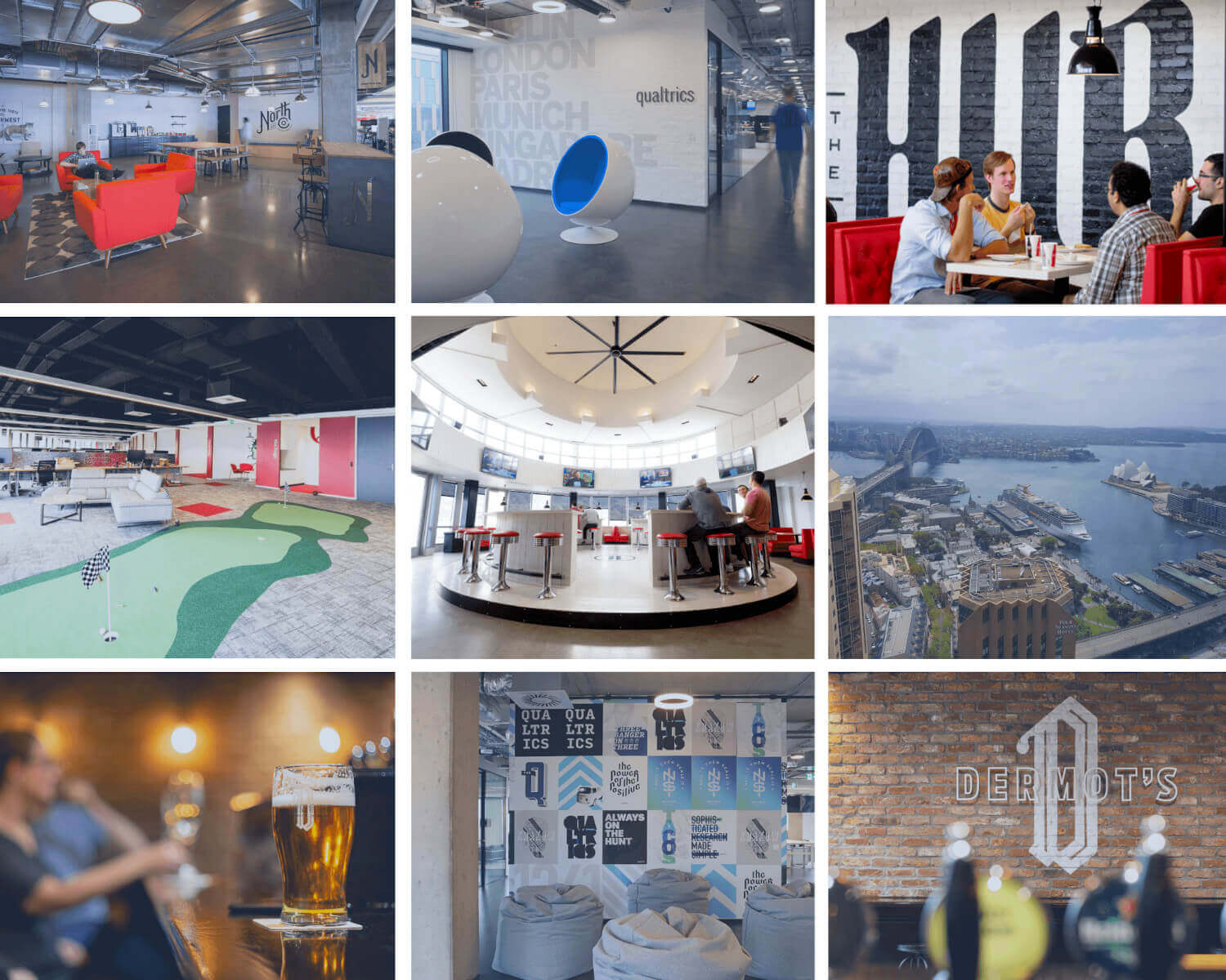 Qualtrics office spaces