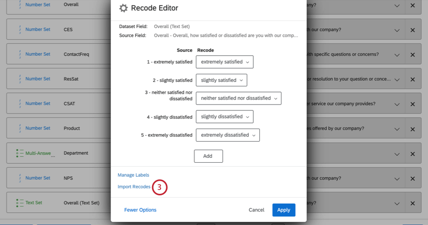 """image of the """"import recodes"""" button in the recode editor"""