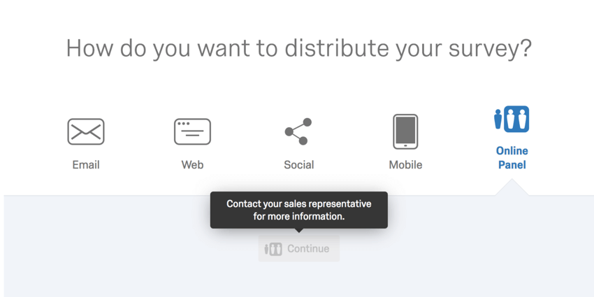 image of the create panel button greyed out due to not having purchased a panel