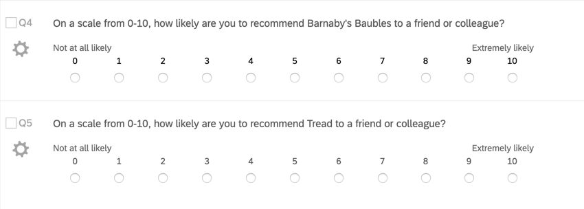"An NPS question just asks ""how likely are you to recommend this brand to a friend or colleague?"" and makes the respondent rate their answer from 0 to 10"
