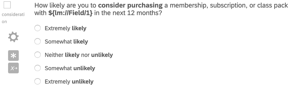 Same scaled question, worded slightly differently