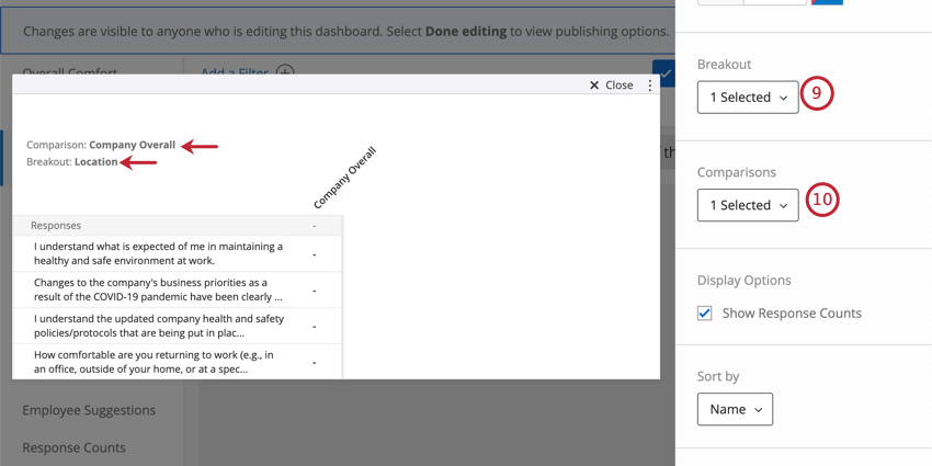Fields filled out as described. As you add these settings, the heat map previewed to the left shows your selections