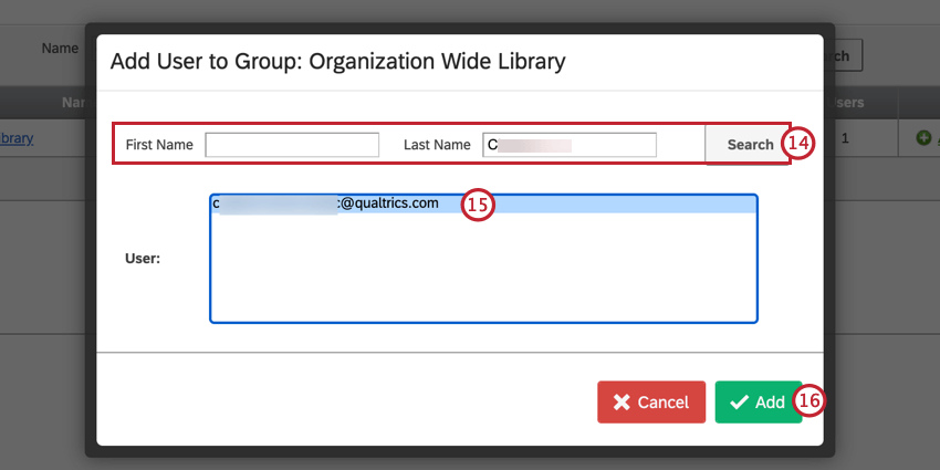 adding a user to the group