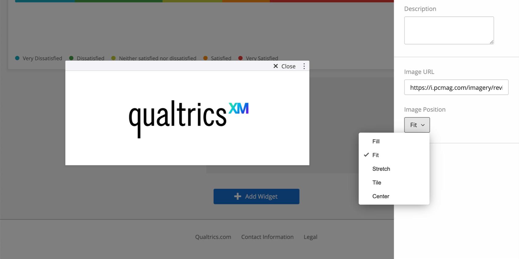 Bild-URL im rechten Bearbeitungsbereich