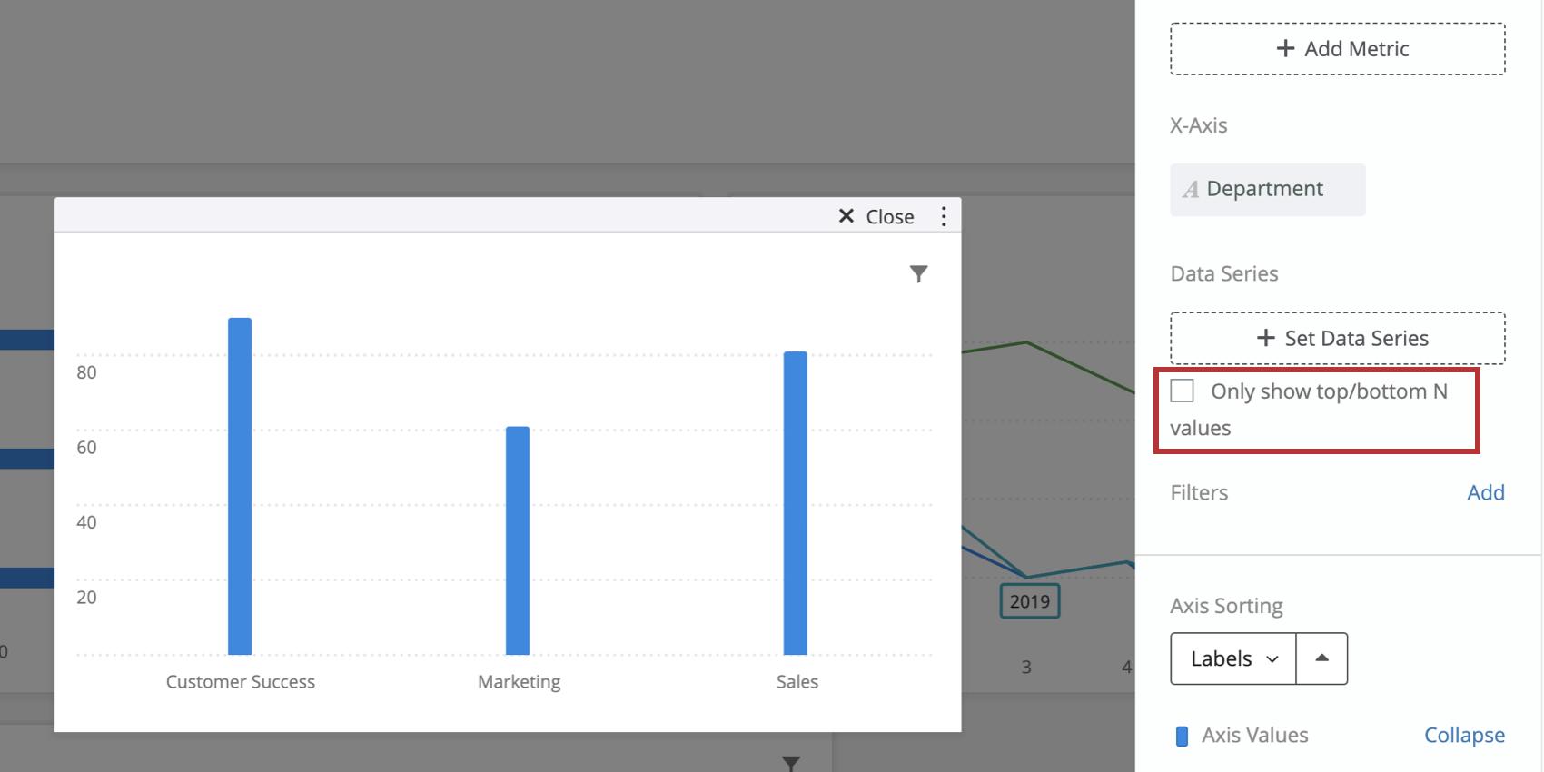 上位/下位N件の値のみを表示のオプションの画像