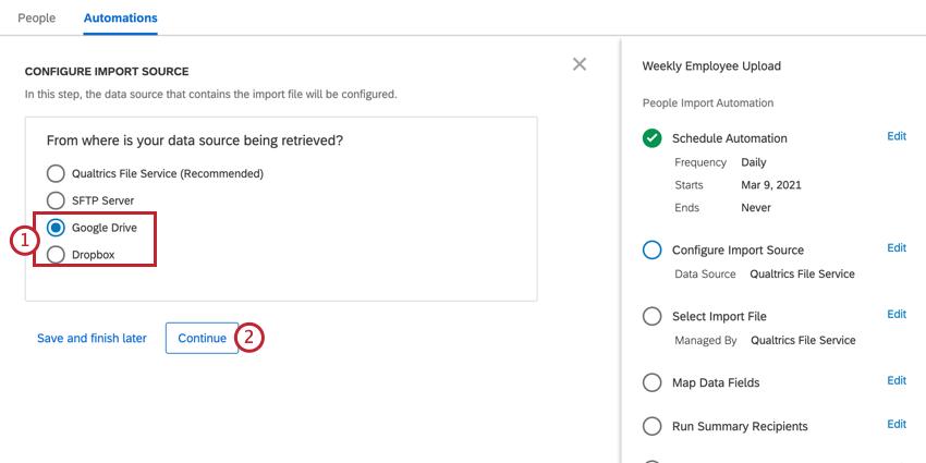 choosing google drive or dropbox