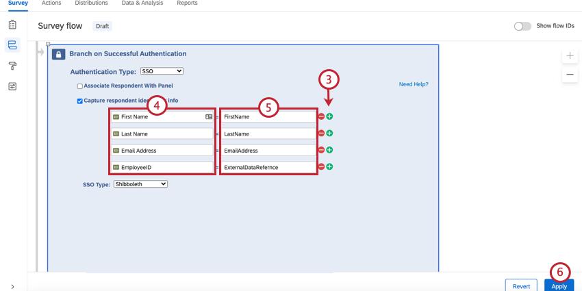 adding embedded data fields to capture
