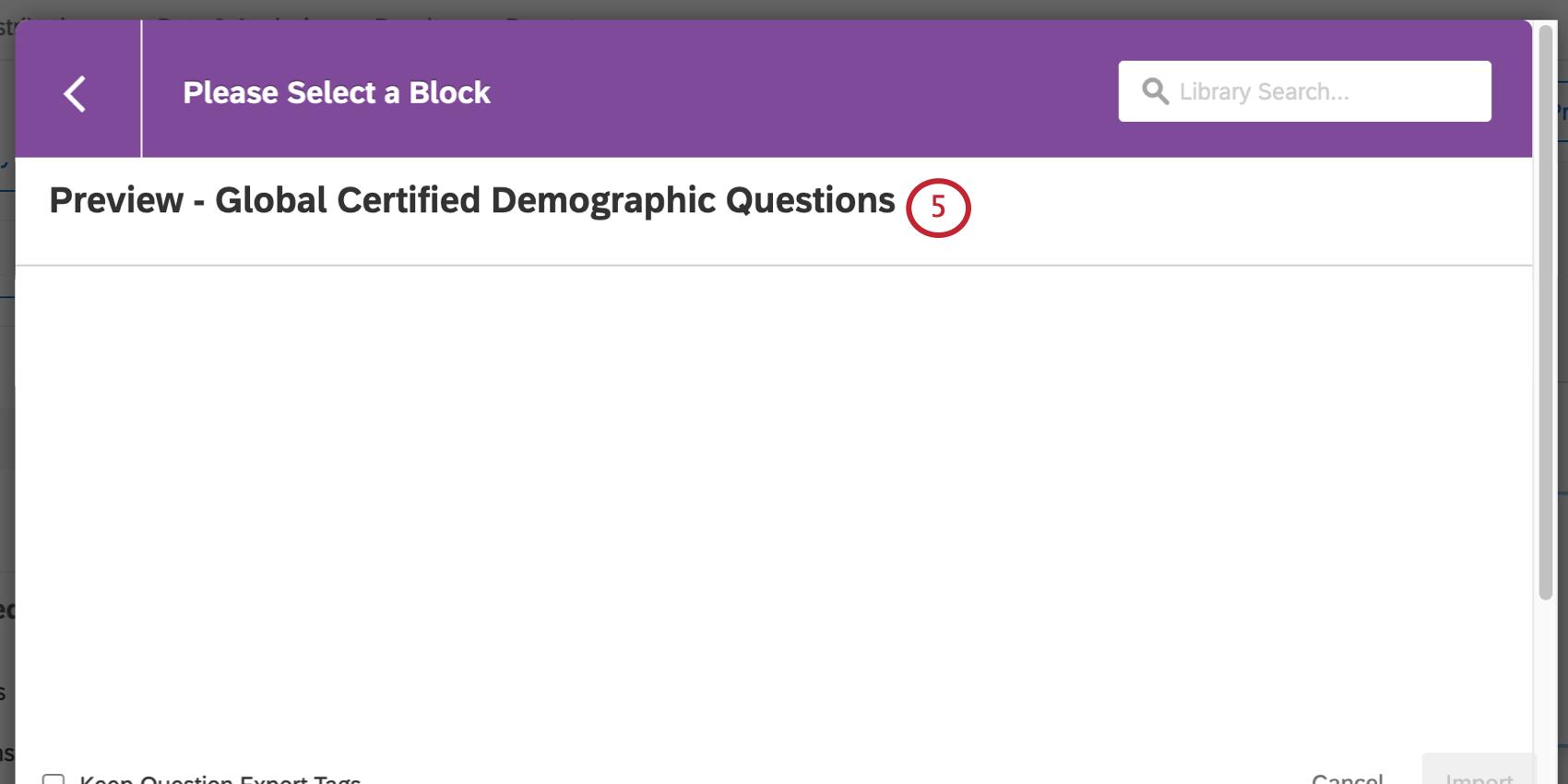 choosing the certified questions block