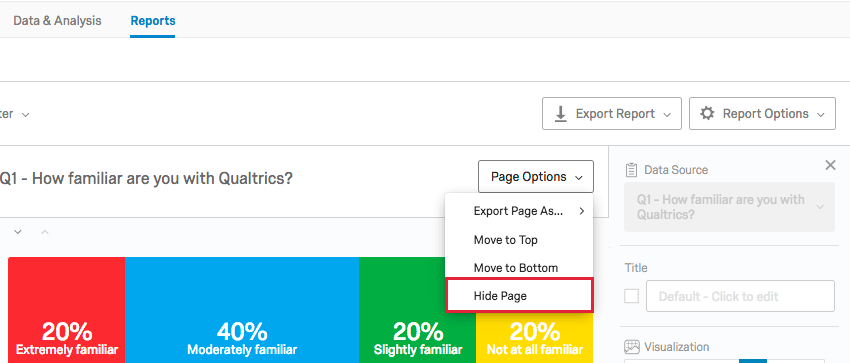 page options in the upper right of the page has a hide page option