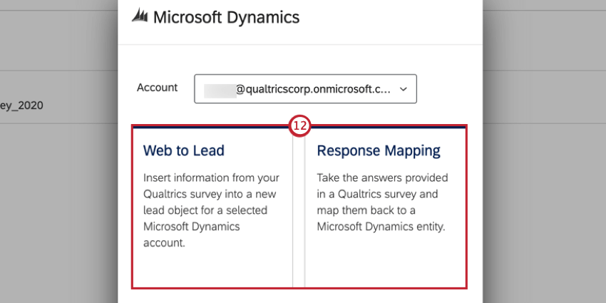 choosing response mapping or web to lead