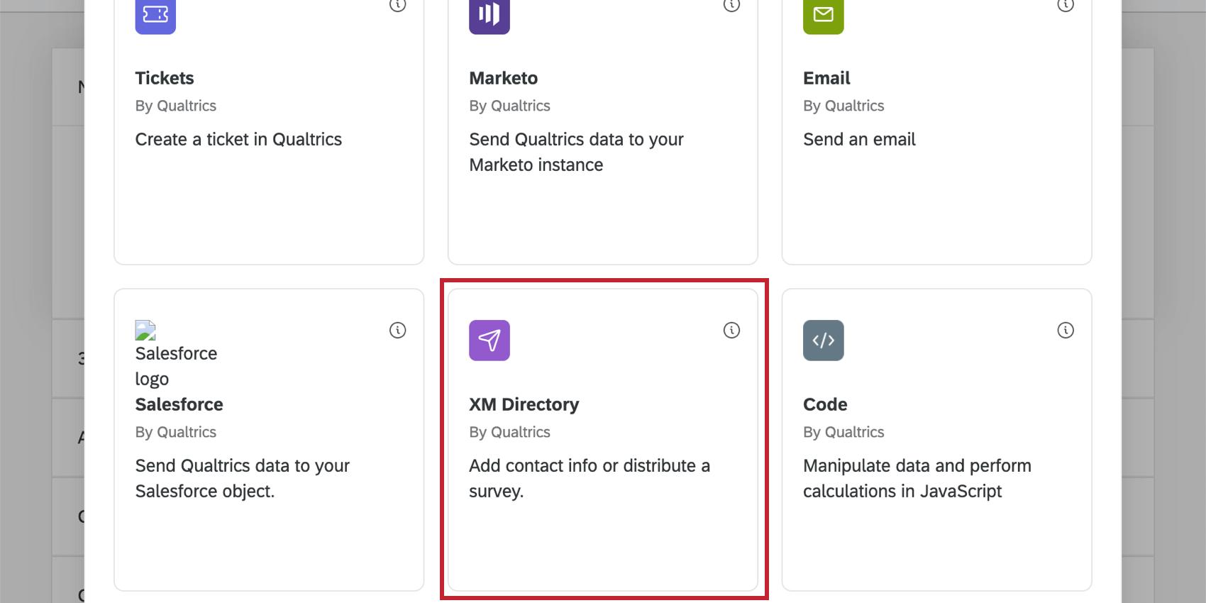 Image of xm directory task in task window