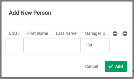 Add New Person window