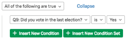 Did you vote in the last election? Is Yes
