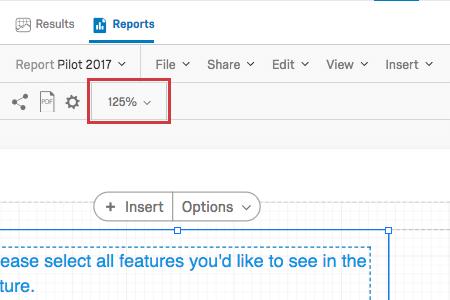 Zoom option on upper-left in the bottom toolbar