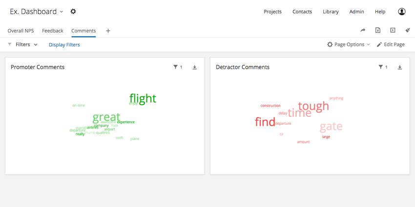 Word Cloud widget