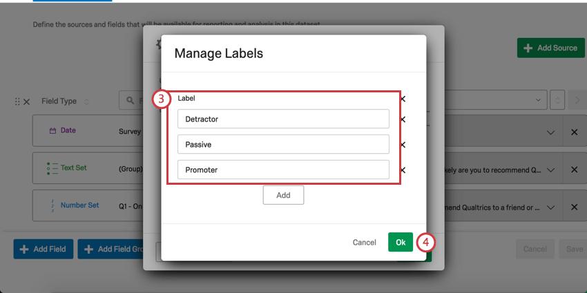 Manage Labels