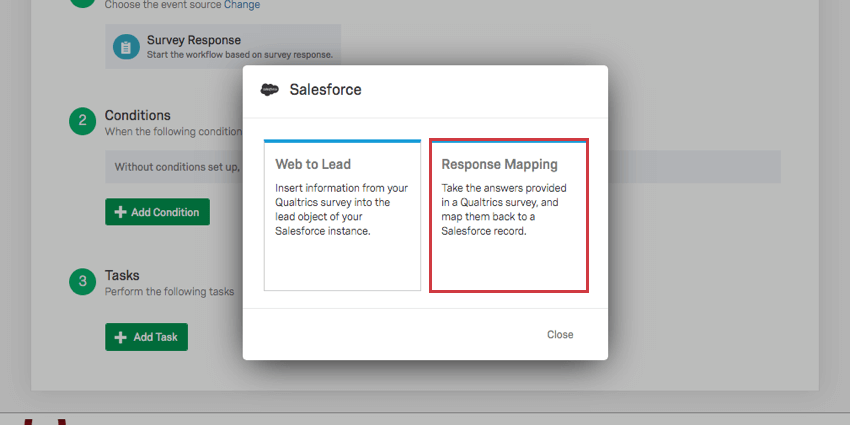 Salesforce Response Mapping - Qualtrics Support on training mapping, informatica mapping, twitter mapping,