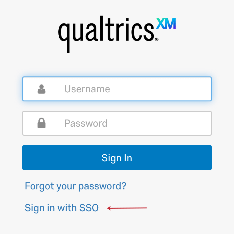 Image of how to access SSO login