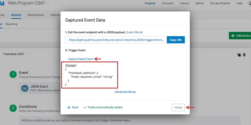 JSON Event - Qualtrics Support