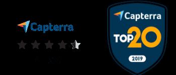 Capterra EX Reviews and Top 20 Award 2019