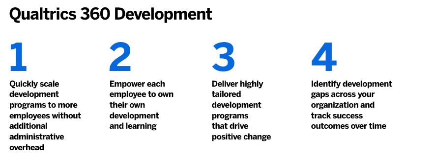 360 feedback questions - 4 stages of 360 development