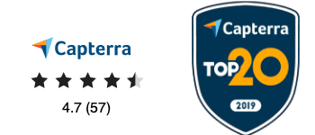 Capterra EX Software Reviews and Top 20 Award 2019