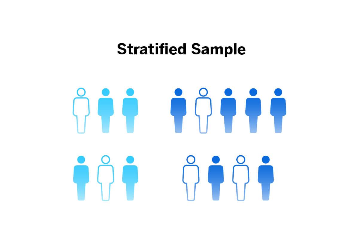 Visual Image of Stratified Random Sample