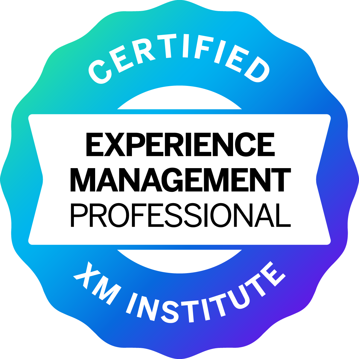XM Institute Certified Experience Management Professional Logo