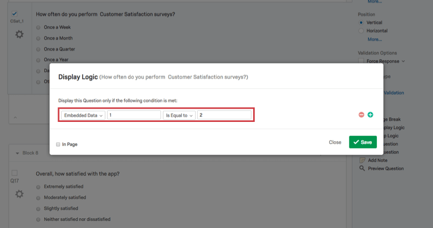 Display Logic - Qualtrics Support