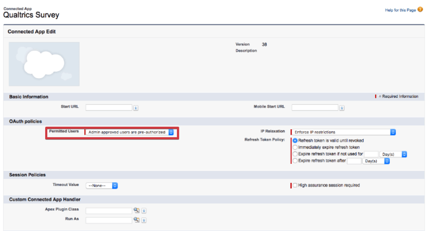 Salesforce app installation qualtrics support fandeluxe Image collections