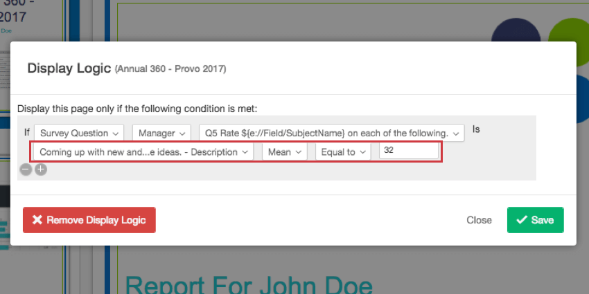 report pages 360 qualtrics support
